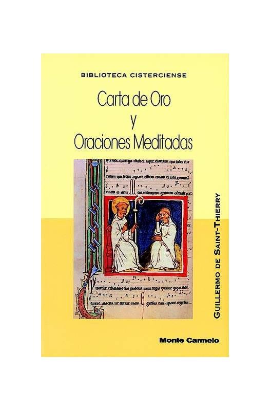 Carta de Oro y Oraciones Meditadas