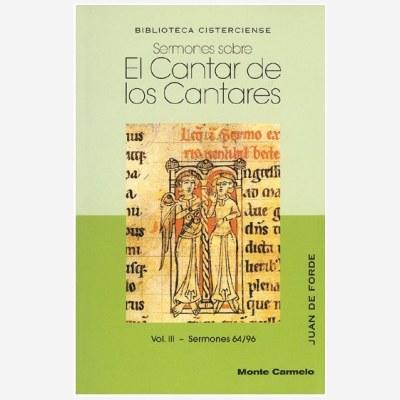 Sermones sobre el Cantar de los Cantares. Vol. III