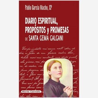 Diario espiritual, propósitos y promesas de Santa Gema Galgani