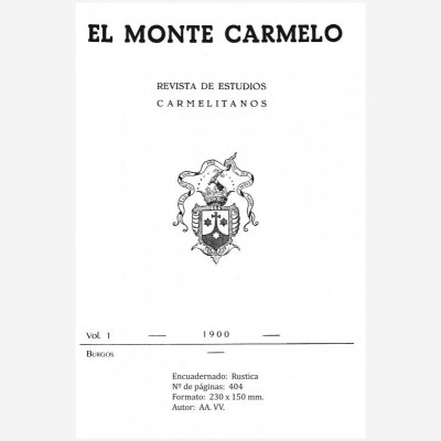 Revista Monte Carmelo - Volumen 1