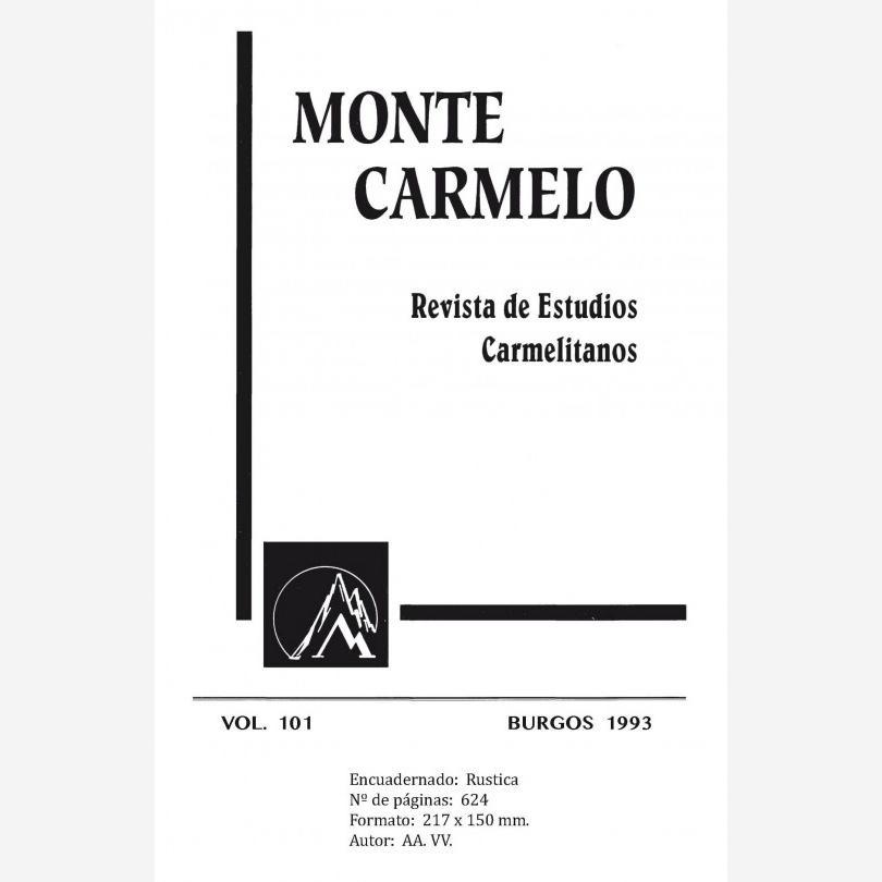 Revista Monte Carmelo - Volumen 101