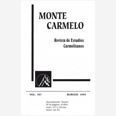 Revista Monte Carmelo - Volumen 107