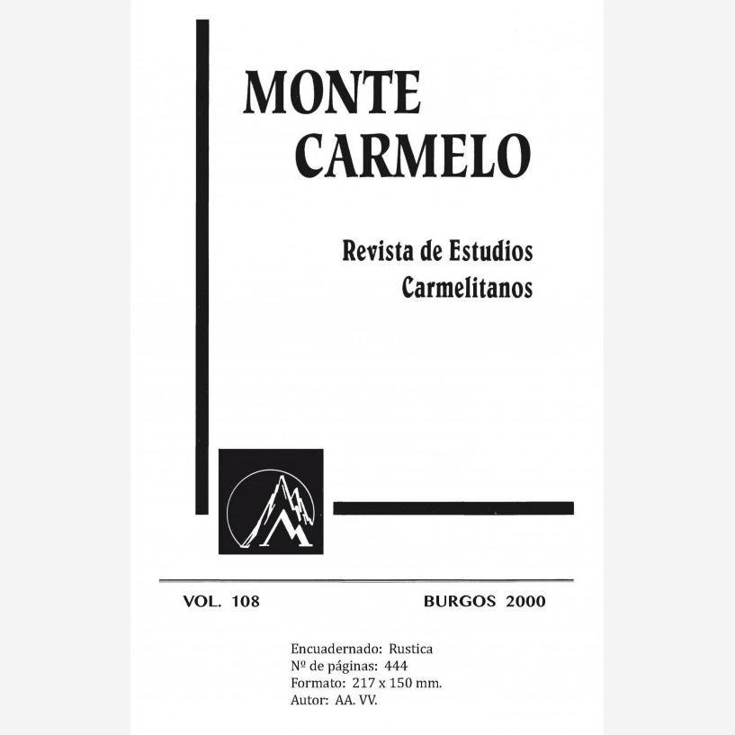 Revista Monte Carmelo - Volumen 108