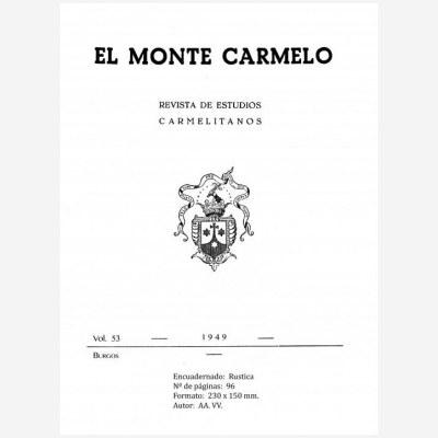 Revista Monte Carmelo - Volumen 53